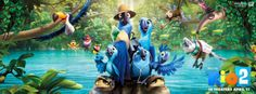#Trailer : #Rio 2 New Trailer of An upcoming Amazing Mivie Rio 2 by Blue sky Studio is Out. Its a wonderfull 3D animated movie and in second version Blu, Jewel and their three kids living the perfect domesticated life in the magical city that is Rio de Janeiro. When Jewel decides the kids need to learn to live like real birds, she insists the family venture into the Amazon. As Blu tries to fit in with his new neighbors, he worries he may lose…