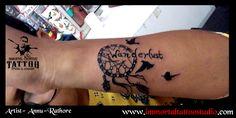 #artoflife #inkoftoday #tattoolife #artaddict #artoftoday #tattoo ed #supportart #tattoos #tattooartist #tattoo #tattooist #tattootime #ink #tattooflash #inktattoo #tattoolove #tattoodesign #tattooing #tattooart #tattooink #Ink #inked #Unique #dreamcatcher #birds #wanderlust #grayshade #Art #Indore at Immortal Creative Tattoo Studio #Indore #Annu-Rathore ur views, Comments and shares would be Appreciated!