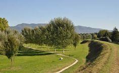 Vista del Parco Fluviale del fiume Serchio di Lucca.