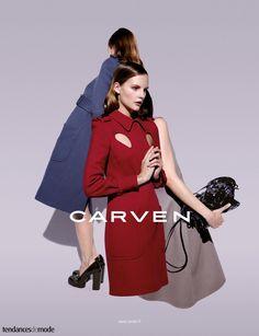"#carven ""spring #summer #campaign"