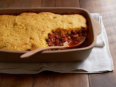 Tamale Pie recipe from Food Network Kitchen via Food Network