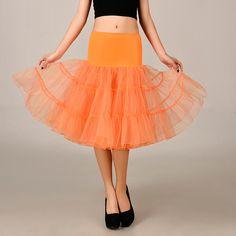 257dd2411db0 2016 Wedding Petticoat Summer Dress Short A Line Crinoline Underskirt  Orange Petticoats For Prom Dresses Tutu Skirts