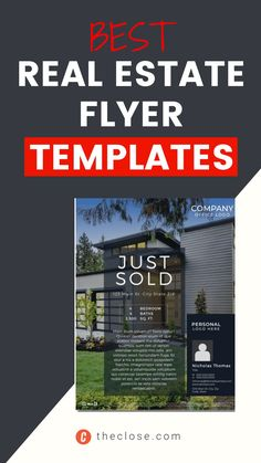 A good real estate marketing flyer template can be hard to find unless you know where to look. Whether you're hosting a real estate open house, promoting a new hot new real estate listing, or trying to build out your lead funnel, a well-designed flyer is going to be a big help. We scoured the internet for the best sources of free (or nearly free) real estate flyer templates and came back with our 17 favorites from four different providers.