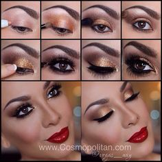 .@vegas_nay | Get my step by step holiday look, description of products LIVE at @cosmoforl... | Webstagram
