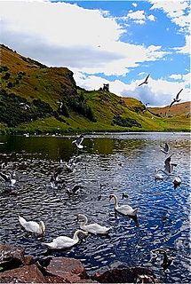 St Margaret's Loch, Holyrood Park, Edinburgh