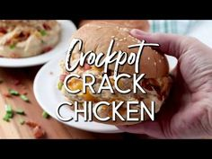 This Creamy Crockpot Crack Chicken has all the delicious flavors of crack dip, plus tender slow-cooked chicken. And it's amazingly easy to make. Crockpot Chicken And Gravy, Slow Cooked Chicken, Crockpot Dishes, Crack Chicken, Slow Cooker Recipes, Crockpot Recipes, Cooking Recipes, Family Fresh Meals, Roasted Sweet Potatoes