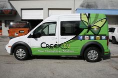 Ford Transit Connect Van 3M Vehicle Wrap for Coconut Creek Florida.