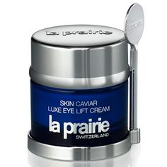 La Prairie Skin Caviar Luxe Eye Lift Cream is a firming and lifting eye cream infused with caviar extract and the brand's exclusive Cellular Complex for the del Eye Lift Cream, Best Eye Cream, Best Anti Aging, Anti Aging Skin Care, Caviar, Eye Cream Reviews, Eye Wrinkle, Best Moisturizer, Puffy Eyes