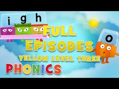 Alphablocks - YELLOW LEVEL 3 | Full Episodes | #LearningFromHome - YouTube Easy Spells, Can Not Sleep, Summer Body Workouts, Hard Words, Phonics Sounds, Phonics Lessons, Full Episodes, Learn To Read, Fun Learning