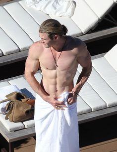 Chris Hemsworth - Thor I know its wrong to objectify men but - woah.