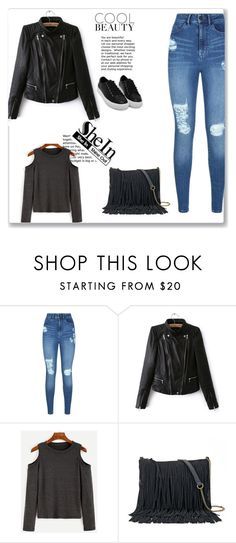 """""""SheIn 1/VI"""" by nermina-okanovic ❤ liked on Polyvore featuring Lipsy, SONOMA Goods for Life and shein"""