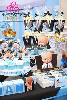 Resultado De Imagem Para Boss Baby Party Birthday Themes First Parties