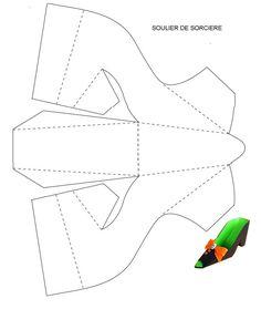 shoe box template
