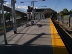 Stay behind the yellow line!!!!!