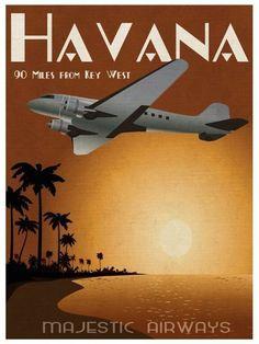 Majestic Airiways Fly Key West to Havana