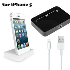 Data Sync Charger Cradle Mount Stand Dock Docking Station For iPhone 5 Ipad Holder, Docking Station, Cell Phone Accessories, Charger, Electronics, Iphone, Ebay, Ipad Holders, Consumer Electronics