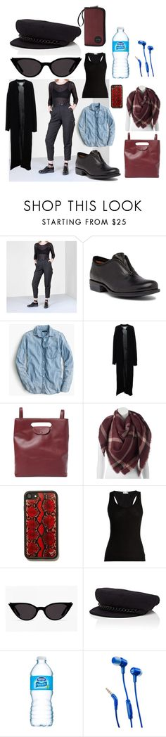 """off"" by moestesoh ❤ liked on Polyvore featuring Miz Mooz, J.Crew, Ora, Steven Alan, LC Lauren Conrad, Skin, Eugenia Kim, JBL and Dakine"
