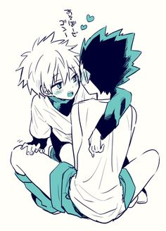 ''Hey. Gon has no problem if I bite you ...? if you do not speak soon I'll bite you <3 and the rest you know :3'' |K-killua you idiot|