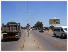 Tsamaya Road , Mamelodi.    Tsamaya Road, Close to the Mamelodi Hospital, Mamelodi Central. Travelling from Mamelodi towards CBD