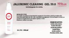 Oggi vi presentiamo il #JaluronicCleasing, il Gel 20.0 AHAs della nuova #LineaViso firmata Neoglis adatto alla detersione della pelle del viso, collo e decòlleté!