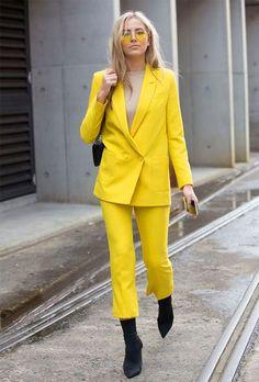 Amarelo: A cor que está bombando nos looks das it girls » Fashion Break