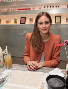 Olivia Palermo celebrates the launch of Alize COCO Pineapple and COCO Peach,April 10, 2013 in NYC.