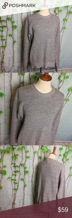 NWT GAP Men 100% cotton Grey Sweater Size M.  Make a reasonable offer and I'll either counter, accept or decline. No trades.  Please check out the rest of my closet, I have various brands. GAP Sweaters Crewneck
