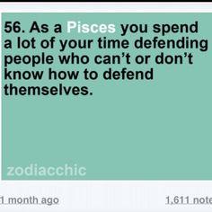 Tell me about it.. I defend sooooooo many people