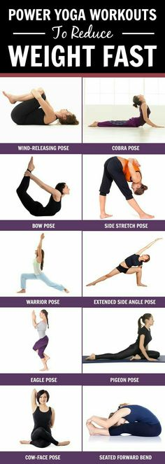Yoga workouts to reduce weight
