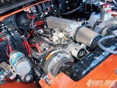 1981 Jeep CJ8 Scrambler GM Ram Jet 35 V8 Engine