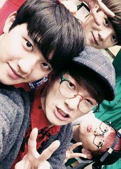 EXO - D.O.  Chen, Luhan & Baekhyun