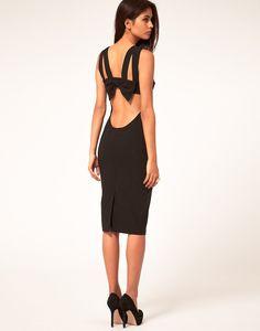 Hybrid Dress Strappy Bow Back Details ($152)