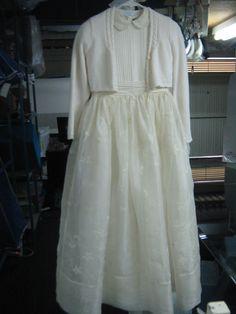 Los Vestidos de Primera Comunión, son prendas de un solo día dignas de conservarse por toda la Vida ¡