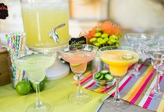 Party Essentials: How To Set Up A Margarita Bar