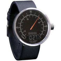 Pressure Guage Inspired Watch (Black)