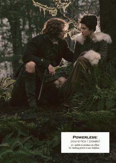 Outlander definitions.- Powerless. (x)
