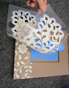 cutting-edge-stencils-indian-inlay-stencil-diy-stenciled-picture-frames