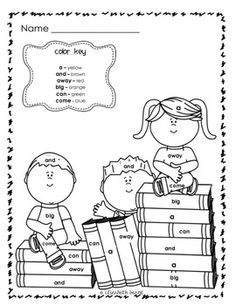 Grade  First coloring first Thanksgiving II  Grade grade word on Pinterest  Crafts First pages Math, sight