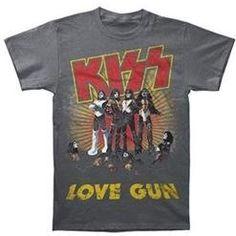 #Rock Merch               #ApparelTops              #Kiss #Love #T-Shirt      Kiss Love Gun T-Shirt                               http://www.snaproduct.com/product.aspx?PID=7698140