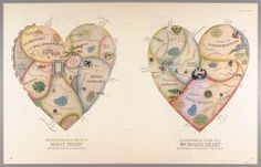 Geographical Guides to a Man's and Woman's Heart.. 1960