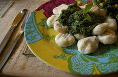 #Gluten-Free #Vegan Gnocchi with Pesto
