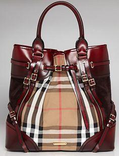 designer purses burberry - Google Search