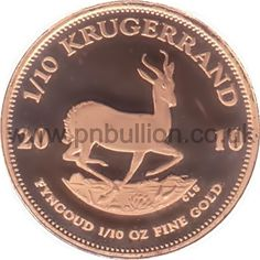Krugerrands are well recognized all over the world. Minted by the Rand Refinery in South Africa. Year: 2010 Weight: = Fineness: Dimensions: x Obverse: portrait of Paul Kruger Reverse: springbok Packaging: plastic coin sleeve Afrikaans, Gold Coins, South Africa, Packaging, Plastic, Personalized Items, Portrait, Sleeve, Manga