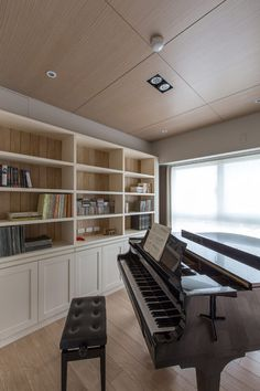 Elegant Apartment Paying Tribute to Art and Music by PMK Designers