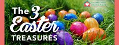 The 3 Easter Treasures - Easter Service - 4/4/21 - Take Jesus Home Easter Service, Easter Messages, Greek Language, Jesus Resurrection, Follow Jesus, In The Flesh, 3 Things, Thing 1 Thing 2, Over The Years