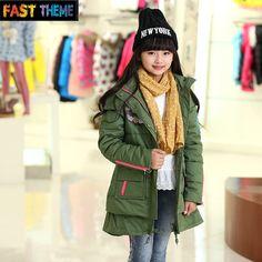 816258cbd girls winter coat