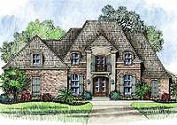French Country House Plans - French Country Designs at Architectural Designs Magazine