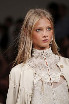 Anna Selezneva at Ralph Lauren _