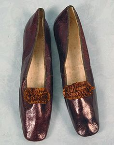 Lady's Leather Shoes, 1830-1840s