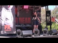 Brittany Leo - LIVE - Snippets of songs from the Melbourne Zombie Walk